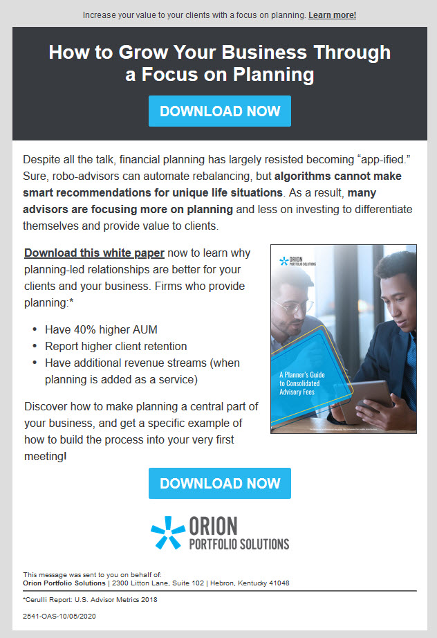 Lead Gen Email Marketing Campaign